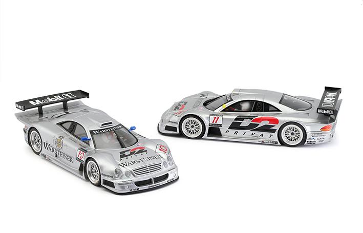 Revoslot les Mercedes-Benz CLK GTR du Team AMG se dévoilent.