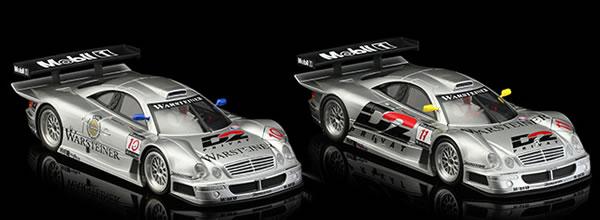 Revoslot: les Mercedes CLK GTR du Team AMG se dévoilent