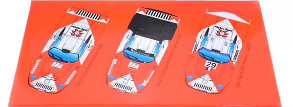 Revoslot: les photos du coffret collector Porsche 911 GT1 JB Racing Marlboro