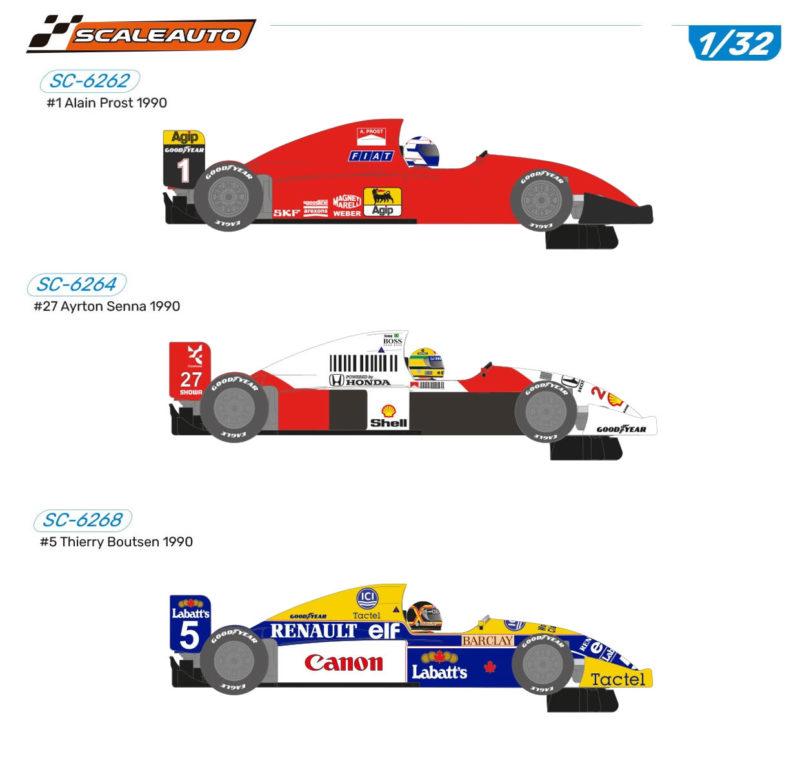 """Scaleauto: Des F1 """"Generic"""" 1/32 pour cet été"""