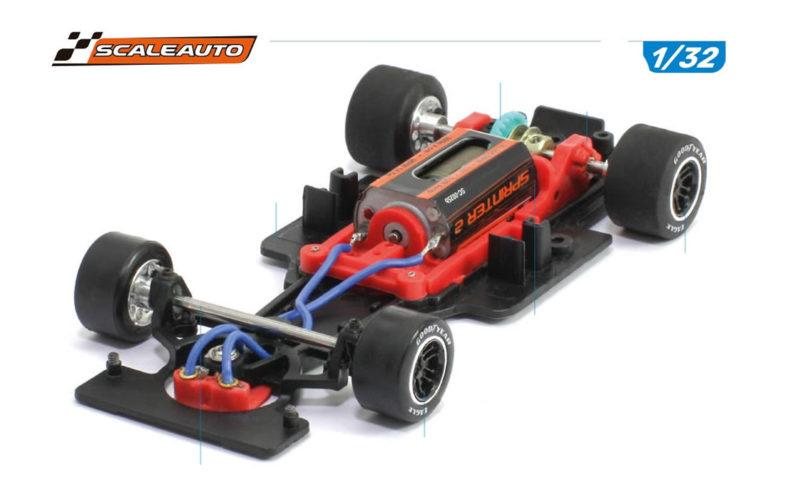 """Scaleauto: Des F1 """"Generic"""" 1/32 pour cet été!"""