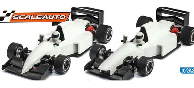 Scaleauto: Des F1 «Généric» 1/32 pour cet été!