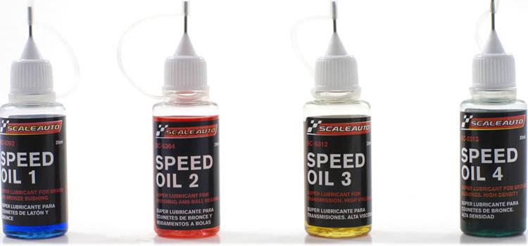 Scaleauto: Des lubrifiants pour les slot cars