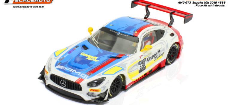 Scaleauto: le Kit de course de la MB-A GT3 Suzuka 2018 #888 – SC-6277rd