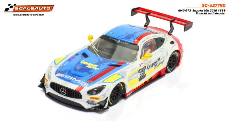 Scaleauto le Kit de course de la MB-A GT3 Suzuka 2018 #888 - SC-6277rd