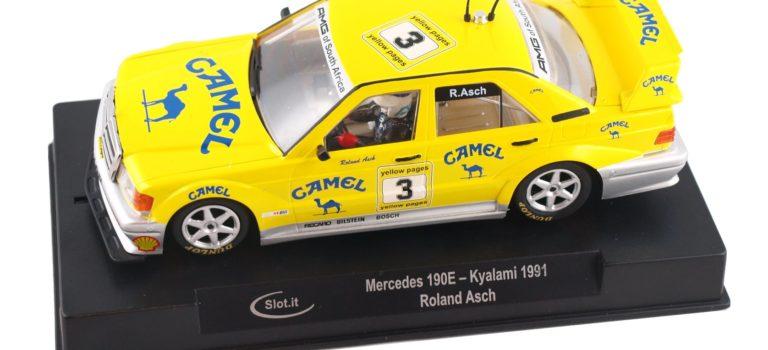 Slot.it: La Mercedes 190 E – #3 Kyalami 1991 Roland Asch – CA44d