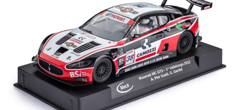 Slot.it: la Maserati MC GT3, #38 Superstar GT Sprint 2012 approche des circuits de slot