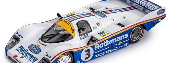 Slot.it: la Porsche 956 LH #3 24h Le Mans Winner 1983 - CW24