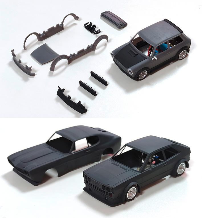 BRM la VW Scirocco, la Ford Capri et l'A112 Abarth sont confirmées