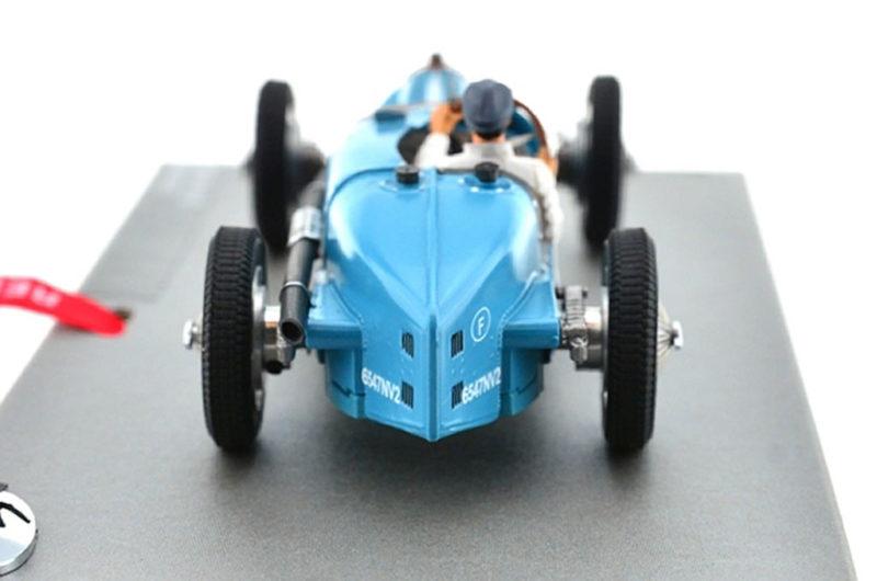 Bugatti Type 59 #8 GP Monaco 1934 – Bleu – LM-132087B