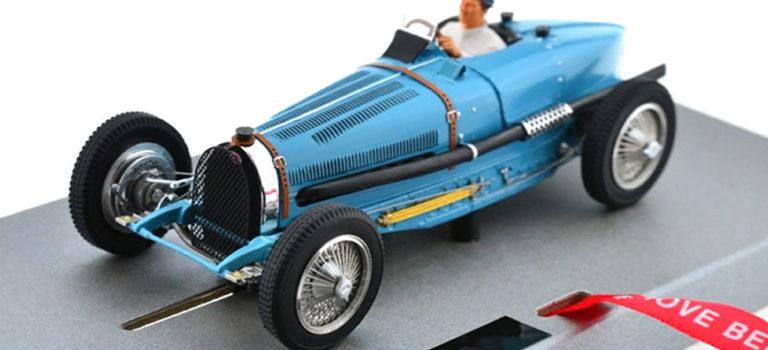 Le Mans miniatures: les photos de la Bugatti Type 59 #8 GP Monaco 1934 – Bleu