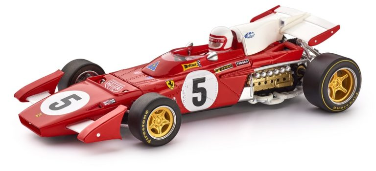 Policar: La Ferrari 312 B2 #5 Silverstone 1971 arrive
