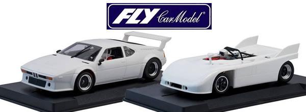 Fly Car Model Deux slot cars pour la série Sport