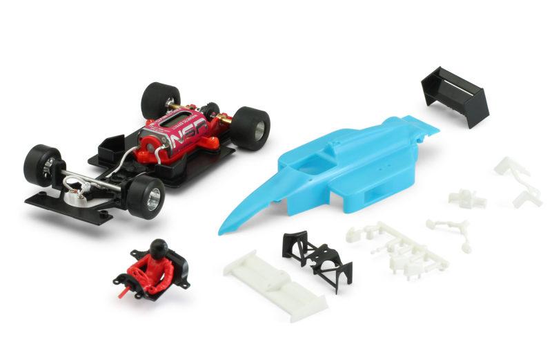 Formule 1 86/89 – Carrosserie Bleue avec Mécanique Inline King Evo3 21k – 0162IL
