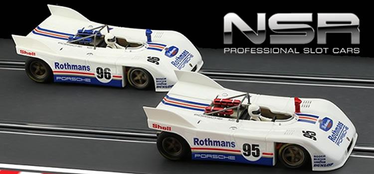 NSR: Deux Porsche 908/3 Rothmans bientôt sur les pistes de slot