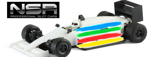 NSR: Quatre couleurs pour le kit de la F1 86/89