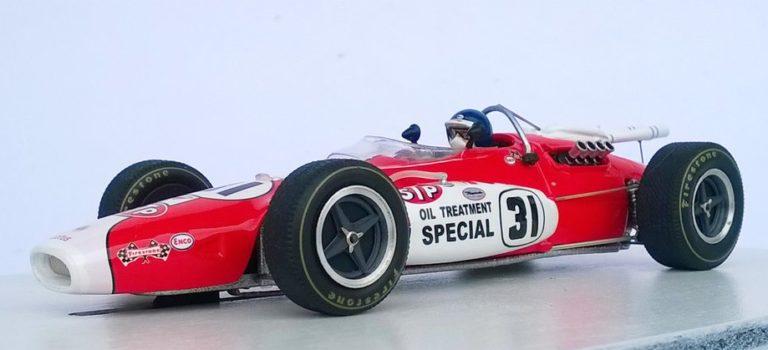 Ostorero Slot: La Lotus Type 38 1967 de Jim Clark
