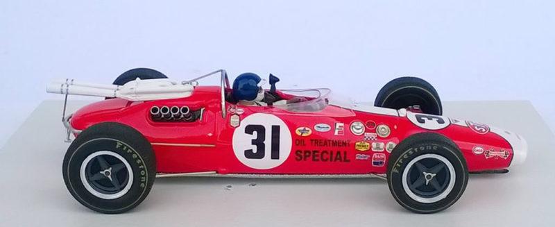Ostorero Slot La Lotus Type 38 1967 de Jim Clark