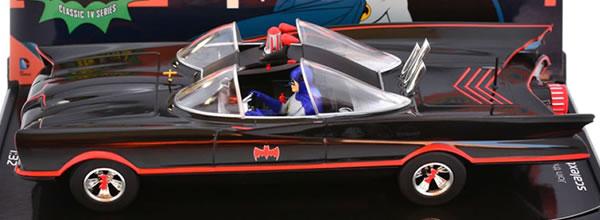 Scalextric: les photos de la Batmobile 1966