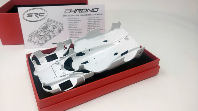 SRC - kit Toyota TS050  carrosserie - SCP