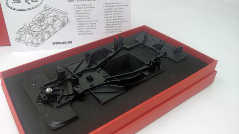 SRC - kit Toyota TS050  chassis - SCP