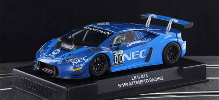Sideways: la LB H GT3 #100 Attempto Racing (CAR01J)