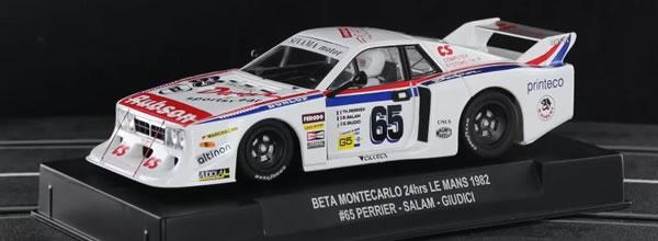 Sideways: la Lancia Beta Montecarlo Gr.5 – 24h le Mans 1982 – SW73