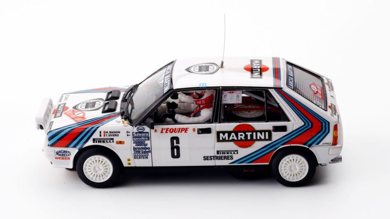 Team Slot la Lancia Delta HF 4WD Winner Monte-Carlo 1987