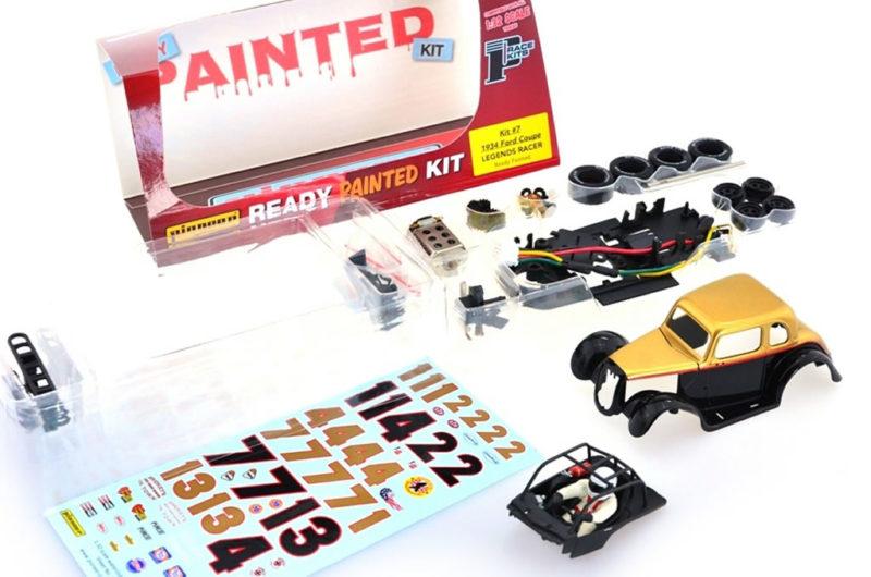 Pioneer Slot: Un kit pré peint pour la Ford 34 Coupé Legends Racer