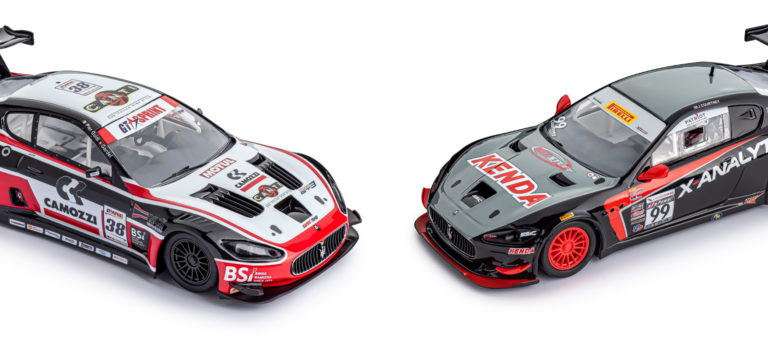 Slot.it: Les différences entre la Maserati GT3 et la GT4