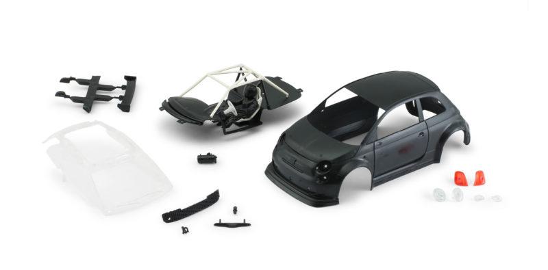 Abarth 500 Assetto Corse EVO – Body kit Black – 1363EVO-BK