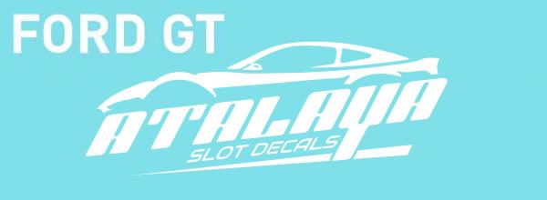 Atalaya: Une série de décalques pour la Ford GT GT3 de Sideways