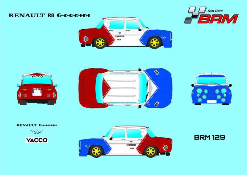 BRM 129 - Renault R8 Gordini Yacco
