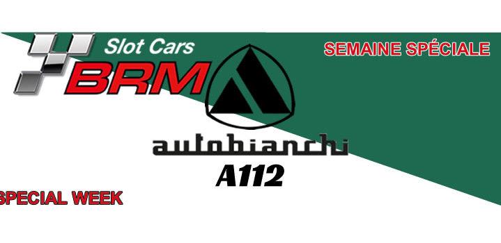 BRM: L'A112 Abarth à l'échelle 1/24