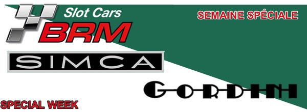 BRM les prochaines  R8 Gordini et des Simca 1000