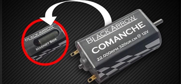 Black Arrow: Le moteur Comanche V1.0 pour slot car
