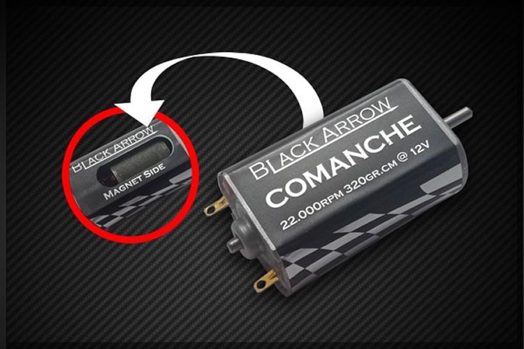 Black Arrow: Le moteur Comanche V1.0