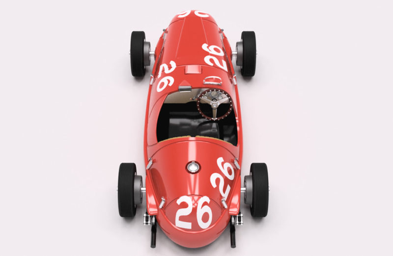 Ferrari 166 SC 1948 #26 GP Reims