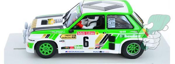 Fly Model car: la  R5 Turbo Rallye de Lozère 1985 - E2016