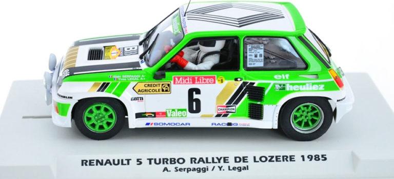 Fly Model car: la  R5 Turbo Rallye de Lozère 1985 – E2016
