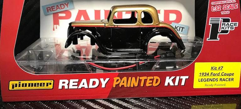 Pioneer Slot: Un kit pré-peint pour la Ford 34 Coupé Legends Racer
