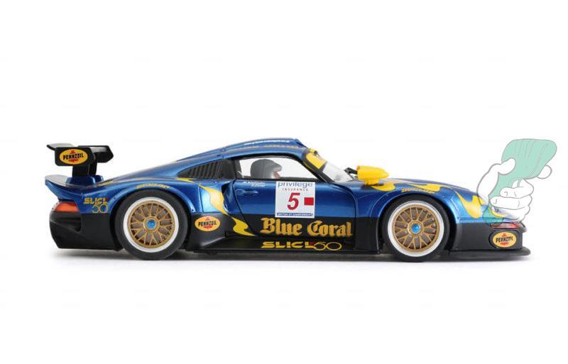 Porsche 911 GT1 LM Nr.5 Blue Coral – RevoSlot RS0103