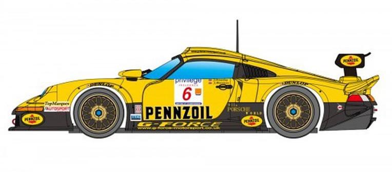 Porsche 911 GT1 LM Nr.6 Pennzoil - RevoSlot RS0104