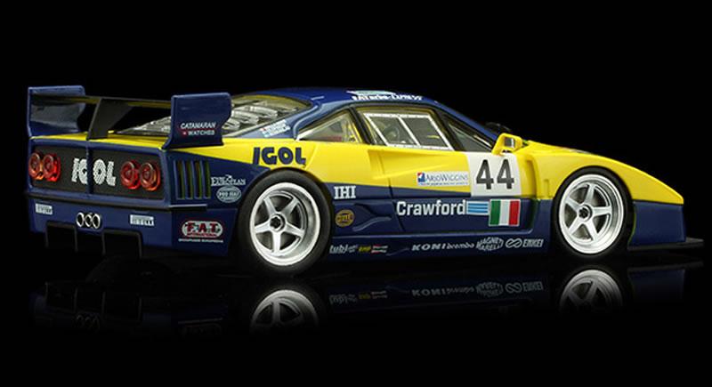 REVOSLOT-0106 Ferrari F40 IGOL #44 - 24H LeMans 1996