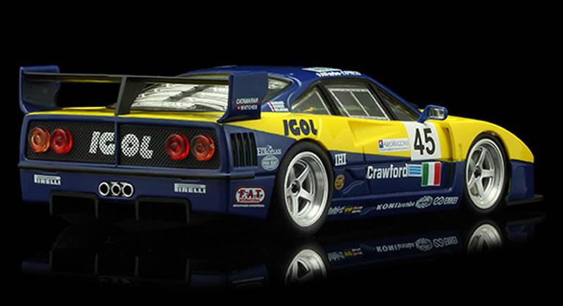 REVOSLOT-0107 Ferrari F40 IGOL #45 - 24H LeMans 1996