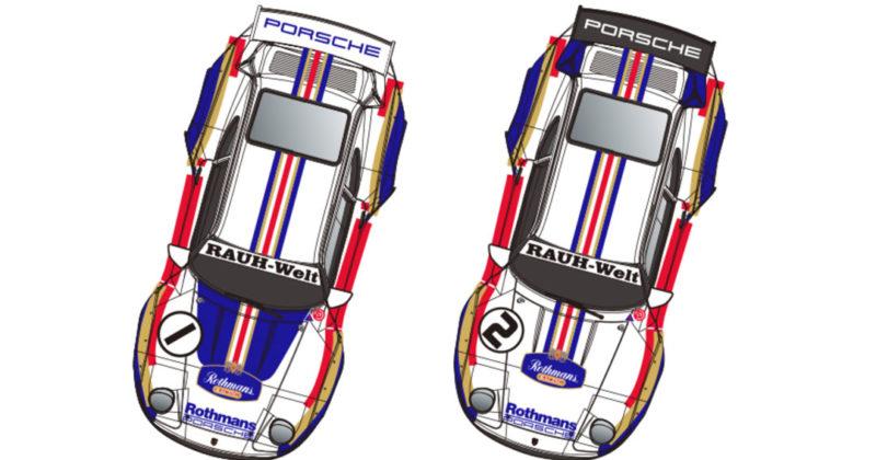 Revoslot - Porsche 911 GT2 Rothmans #1 & #2 Twin Pack - RS-0119