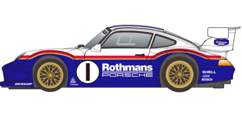 Revoslot - Porsche 911 GT2 Rothmans #1 - RS-0117