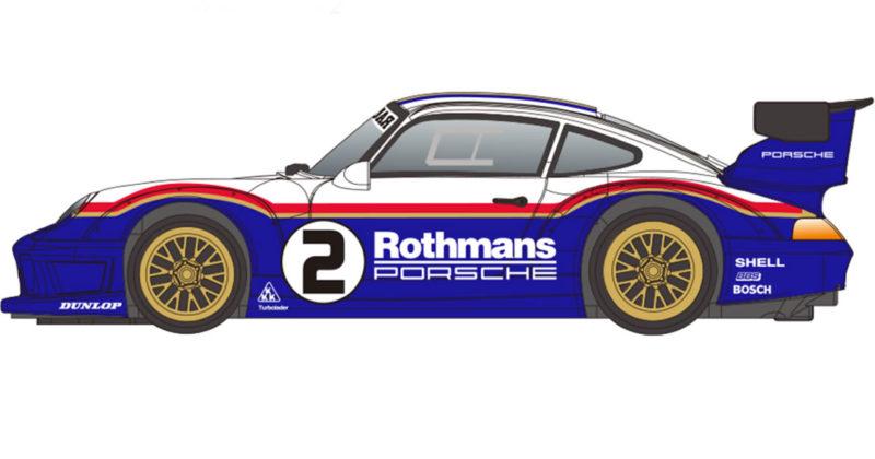 Revoslot - Porsche 911 GT2 Rothmans #2 - RS-0118