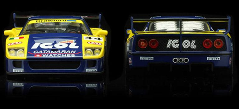 Revoslot: les deux F40 Ennea Igol – 24h le Mans 1996