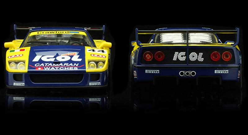 REVOSLOT-0108 Ferrari F40 IGOL #44 & #45 - 24H LeMans 1996